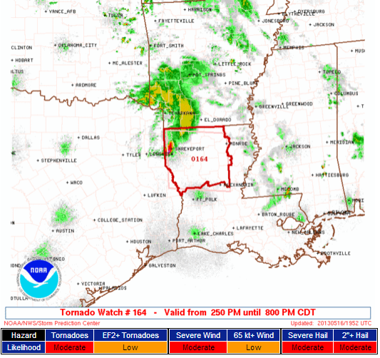 Tornado Watch (Louisiana)