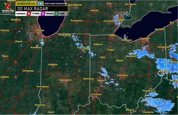 657pm Regional Radar