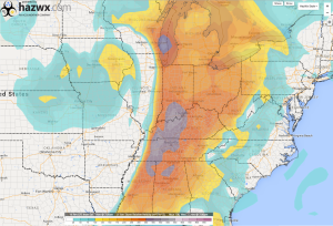 12z GFS 1km Helicity 7 PM Wednesday