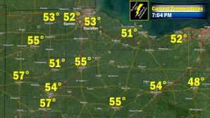 704 PM Temperatures